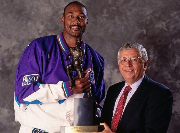 El MVP más viejo de la historia de la NBA Karl Malone