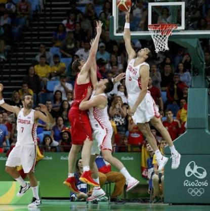 España Croacia Rio 2016