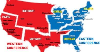 Conferencia Este vs Conferencia Oeste