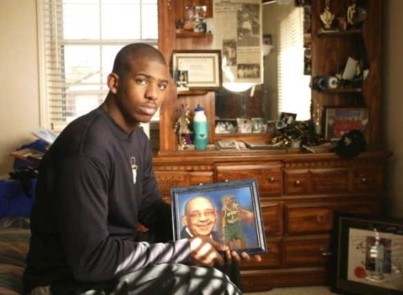 El homenaje de Chris Paul a Papa Chilly