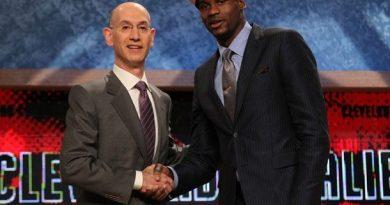 El jugador más viejo elegido en el Draft de la NBA