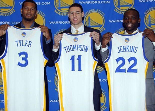 Warriors quinteto inicial rookie