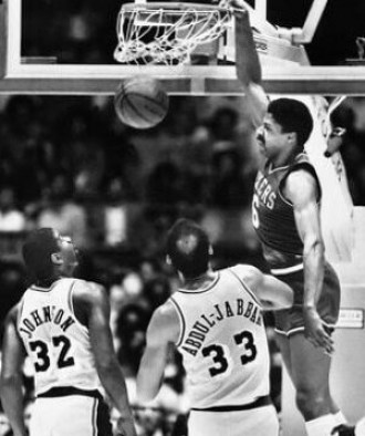 Magic, Erving y Kareem