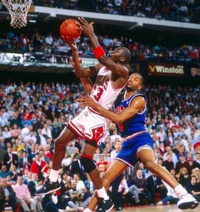Michael Jordan vs. Cavaliers
