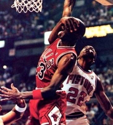 Michael Jordan vs Salley