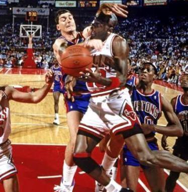 Michael Jordan vs Laimbeer