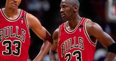 mayor derrota de Michael Jordan y Scottie Pippen
