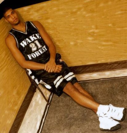 Tim Duncan Wake Forest