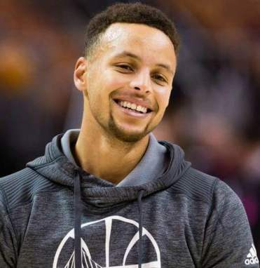 Stephen Curry sonrisa