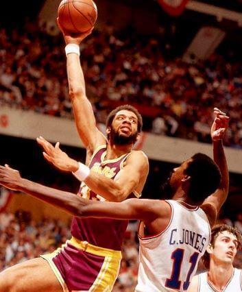 Kareem Abdul Jabbar Lakers 1976-1977