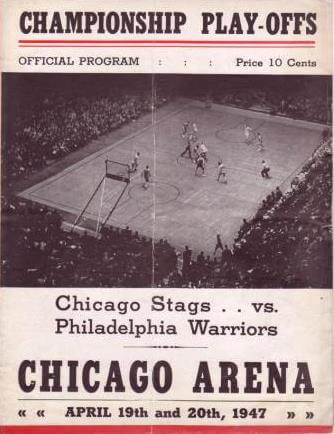 Chicago Stags vs. Philadelphia Warriors