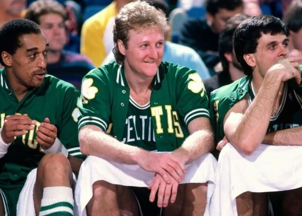 Larry Bird Banquillo