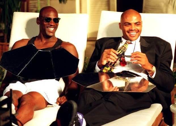 Jordan y Charles Barkley