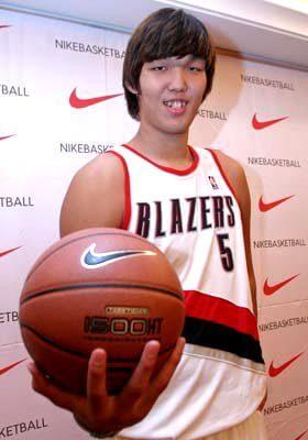 Ha Seung-Jin en un acto de Nike