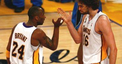 El inspirador reto de Kobe Bryant a Pau Gasol