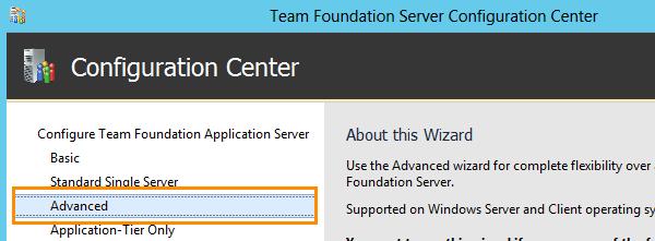 Install Team Foundation Server 2012 (2/6)