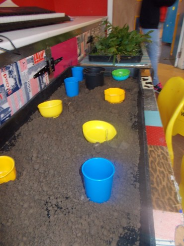 Mud preparation area!