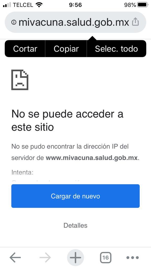 Mivacuna.salud / COVID-19: Tuiteros comparan Mivacuna.salud.gob.mx con ... / Por eso el ministro ...