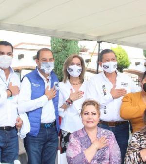 Promete Pedroza certidumbre laboral a trabajadores del Hospital Central