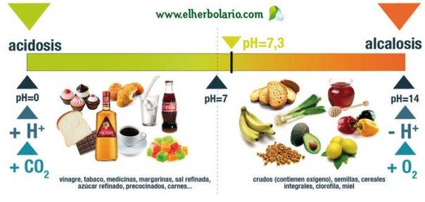 Acidosis, ph y alcalinidad, elherbolario.com