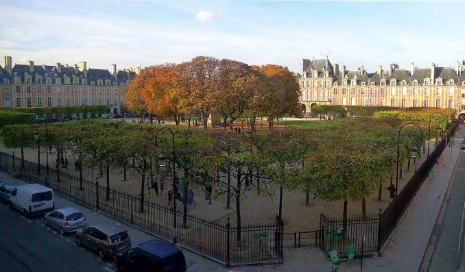 square_Louis_XIII_place_des_Vosges Foto Mbzt