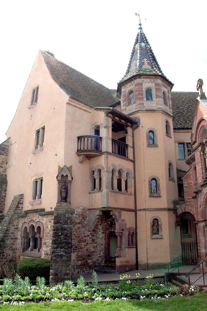 Eguisheim,_château Philippe Sosson
