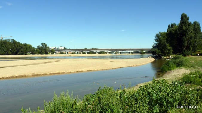 Les bords de la Loire à Orleans
