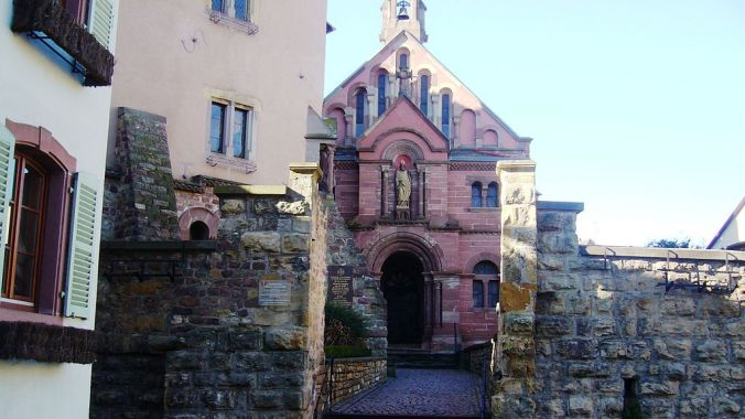 chapelle Saint-Léon IX foto Bernard Chenal
