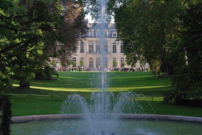 Palais_Élysée_depuis_jardin Photo Leurent.t.