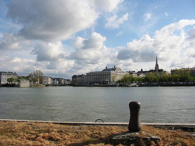 La confluence de l'Adour et de la Nive - photo Cham