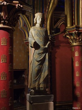 sainte-chapelle- Statut de Saint-Louis