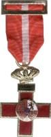 Cruz al mérito militar con distintivo rojo
