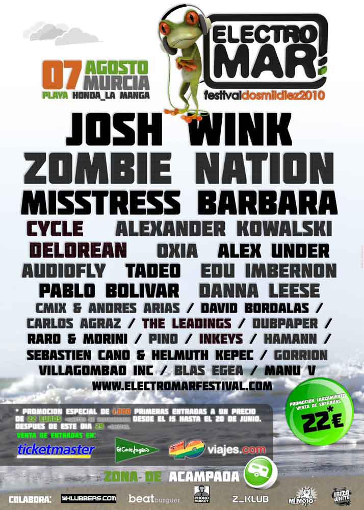 Electromar Festival 2010 - Cartel Final