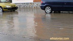 Calle de Cartagena inundada (1)