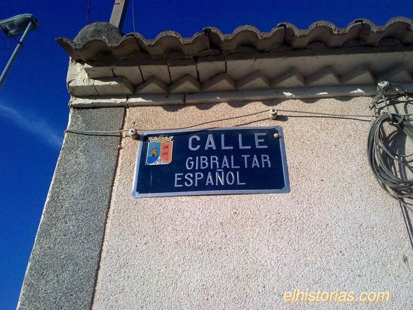 Calle Gibraltar Español, Balsicas