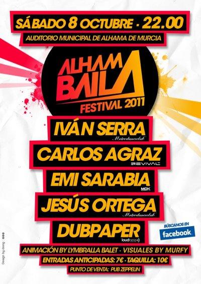 Cartel del Alhama Baila 2011
