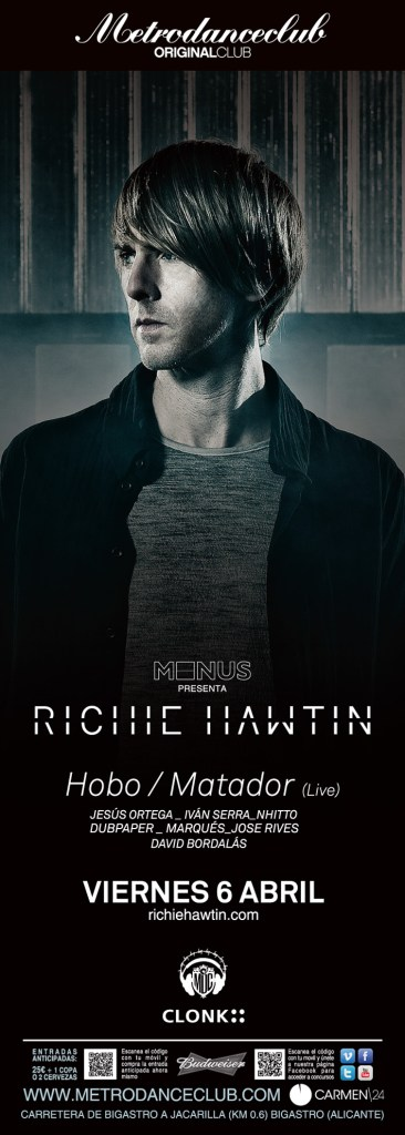 Richie Hawtin, Hobo, Matador @ Metro Dance Club. 06/04/2012