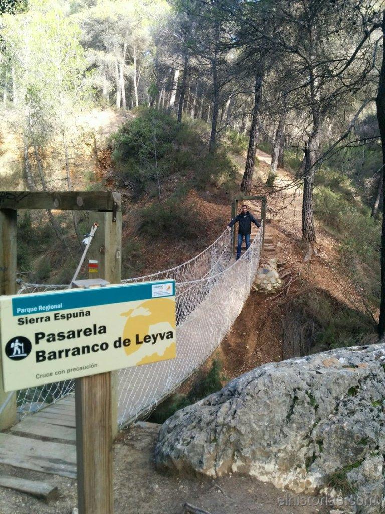 Pasarela Barranco de Leyva