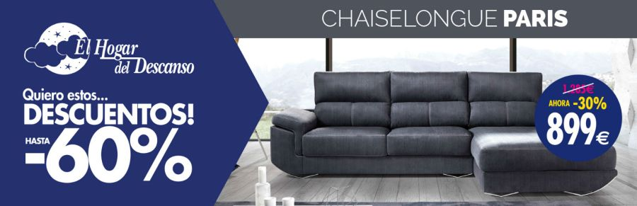 Chaiselongue rebajas