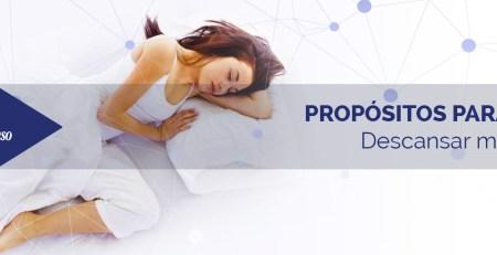Propósitos para dormir mejor