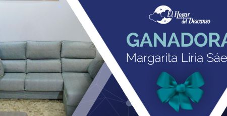 Ganadora sorteo chaiselongue