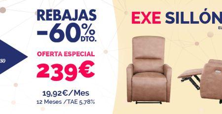 Oferta especial sillón relax