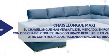 Chaiselongue Maxi DESTACADA