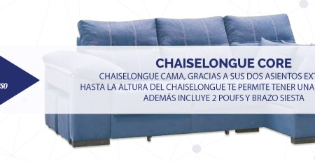 Chaiselongue CORE DESTACADA