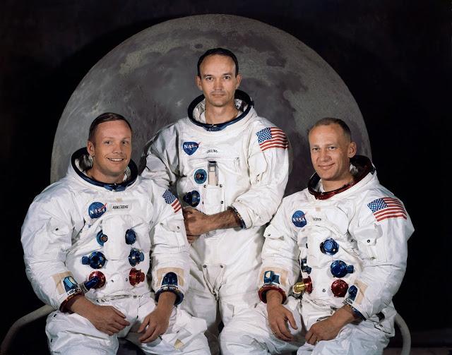Los brillantes seguros de vida del Apolo 11