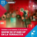 """Este viernes habrá noche de stand up y monólogos en """"La Terracita"""""""