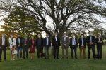 Alberto Rodríguez Saá y el gobernador de La Pampa firmaron convenios para realizar acciones conjuntas en materia de tecnología, salud y turismo