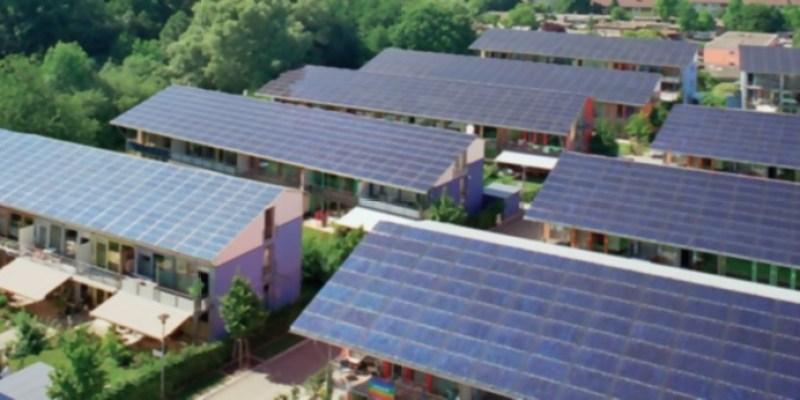 Barrio en Alemania produce 4 veces la energía que consume
