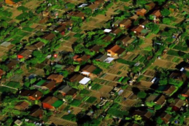 Conoce la ciudad suiza donde cada habitante tiene su propio huerto