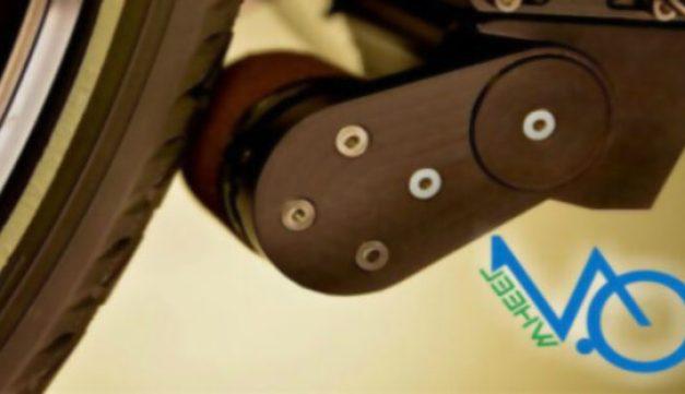 Este artilugio convierte cualquier bici en una bicicleta eléctrica